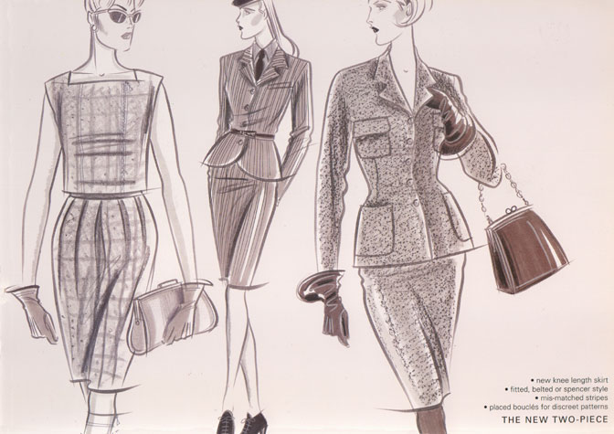 Hilary Kidd Fashion Illustrator Womenswear Daywear